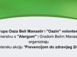 """Poziv na akciju """"Prevencijom do zdravijeg života"""""""