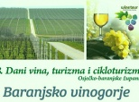 Najava 8. Dana vina i (ciklo)turizma u Belom Manastiru