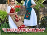 Pozivnica na folklorni koncert u Belom Manastiru
