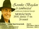Najava koncerta Zvonka Bogdana u Mohaču