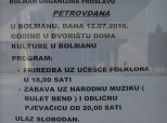 Pozivnica na bolmansko Petrovo