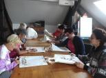 Likovno-kreativne radionice za žene ponedjeljkom (VI/2016)