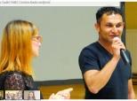 """Glas Slavonije o projekciji filma """"Razred"""" u Bolmanu"""