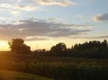 Zalazak sunca kod Aršanja