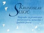"""Nominacije za Mirovnu nagradu """"Vjekoslav Sukić"""""""