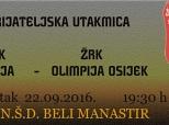 Najava rukometne utakmice u Belom Manastiru