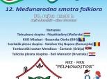 Pozivnica na Smotru folklora u Belom Manastiru