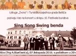 Poziv na džez-koncert u Belišću