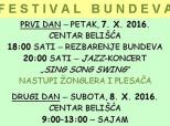 Pozivnica na Festival bundeva u Belišću