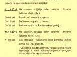 Polaganje vijenaca za Dan Grada Belog Manastira