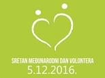 Čestitka volonterima