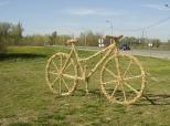 Fotovijest: Bicikl od slame
