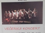 Poziv na folklorni koncert u Dardi
