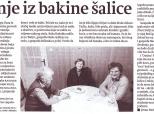 """Članak o """"Oazinom"""" druženju u zagrebačkim """"Novostima"""""""