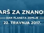 """Poziv na """"Marš za znanost"""" u Hrvatskoj"""