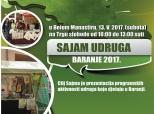 Najava Sajma udruga Baranje 2017.