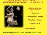 Poziv na tečaj društvenih plesova