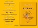 Poziv na predstavljanje knjige Eve Kompanović