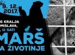 "Poziv na ""Marš za životinje"""