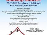 """Poziv na Godišnji koncert MKU-a """"Pélmonostor"""""""
