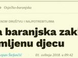 "Mirovna grupa Oaza u ""Večernjem listu"""