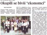 45. godišnjica mature učenika Ekonomske škole