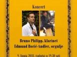 Najava koncerta u belomanastirskoj Župnoj crkvi