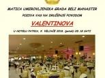 Poziv na druženje umirovljenika za Valentinovo