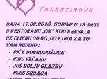 Valentinovsko druženje umirovljenika u Dardi