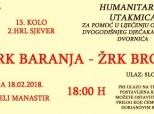 Poziv na humanitarnu rukometnu utakmicu
