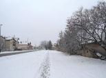 Fotovijest: Ponovo snijeg u Belom Manastiru