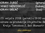 Poziv na koncert u Belom Manastiru