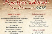 Program Kneževog adventa 2018.