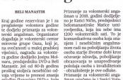 """Belomanastirski najvolonteri u """"Glasu Slavonije"""""""