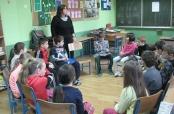 Prva radionica u Područnoj školi Mece
