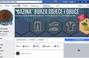 """Facebook-stranica """"Oazine"""" burze odjeće i obuće"""