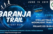 "Poziv na noćnu utrku ""Baranja Night Trail Run"""