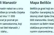 Čudne tvrdnje o Belom Manastiru
