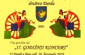 Poziv na godišnji koncert RKUD-a Darda