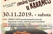 """Poziv na """"Čvarakfest"""" i """"Zimski vašar"""""""