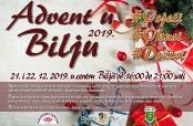 """Poziv na """"Advent u Bilju 2019."""""""