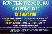 Najava humanitarnog koncerta za Luku