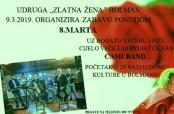 Poziv na osmomartovsku zabavu u Bolmanu