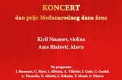 Poziv na koncert K. Naumova i A. Blaževića u Osijeku