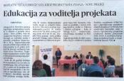 """""""Glas Slavonije"""" o """"Novim znanjima – novim prilikama"""""""