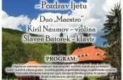 Koncert dua Naumov - Batorek na Jankovcu