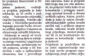 """""""Glas Slavonije"""" o """"Novim znanjima – novim prilikama"""" (2)"""