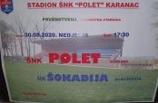 Poziv na utakmicu u Karancu