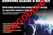 Poziv na koncert duhovne glazbe u Baranjskom