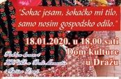 Poziv na poklon-koncert HKUD-a u Dražu